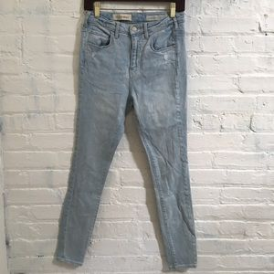 Pilcro and the LetterPress Superscript Skinny Jean